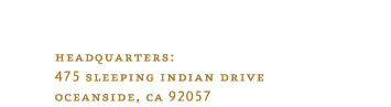 475 Sleeping Indian Drive. Oceanside, CA. 92057